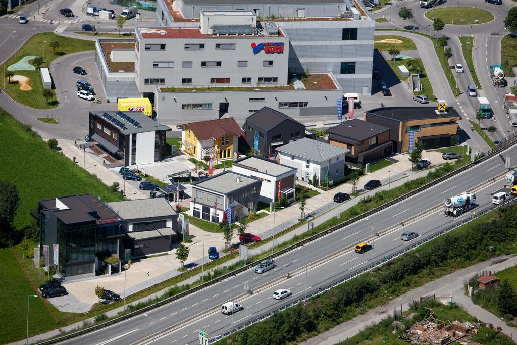 News Musterhauspark Innsbruck vom Fertighaus bis zum Massivhaus, vom Fensterstudio bis zum